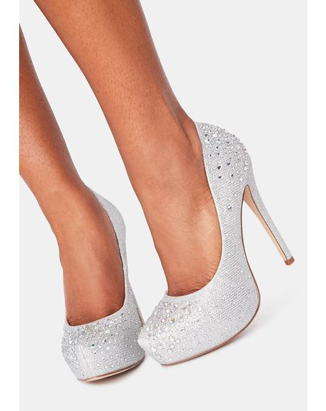 Always Extra Bling Heels