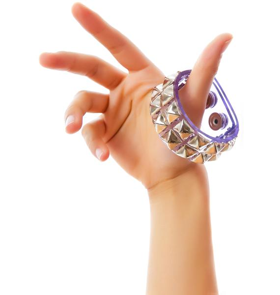 Club Exx Haunted Dream Double Studded Bracelet
