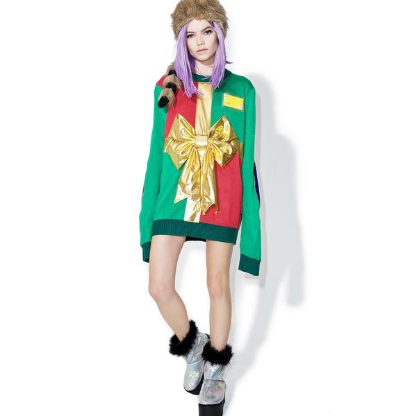 Tipsy Elves Present Sweater