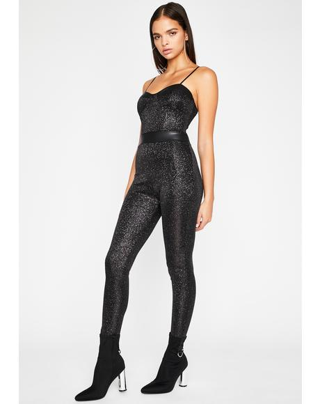 Bish Gettin' Bread Metallic Jumpsuit