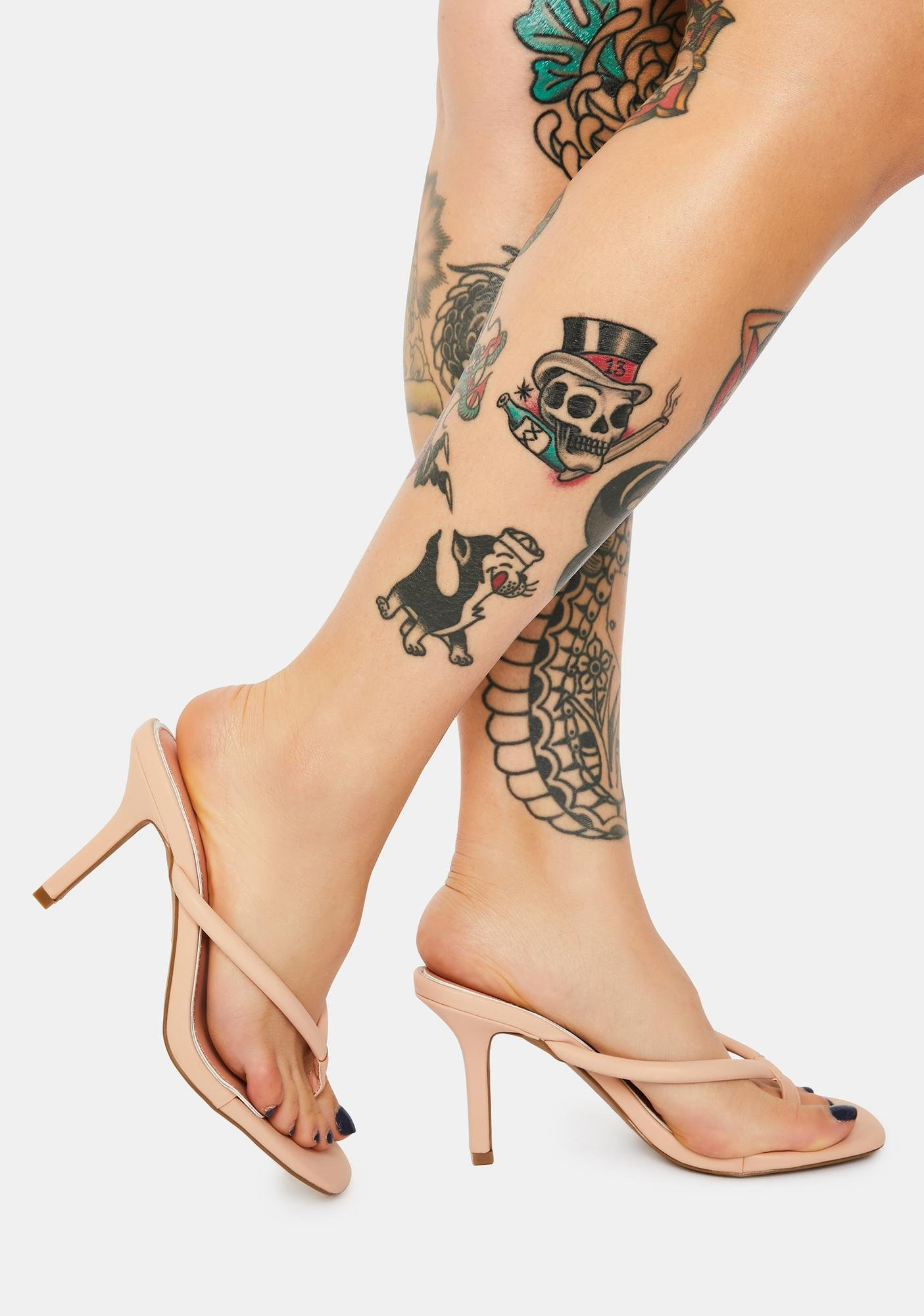 Most Wanted Faux Leather Heels