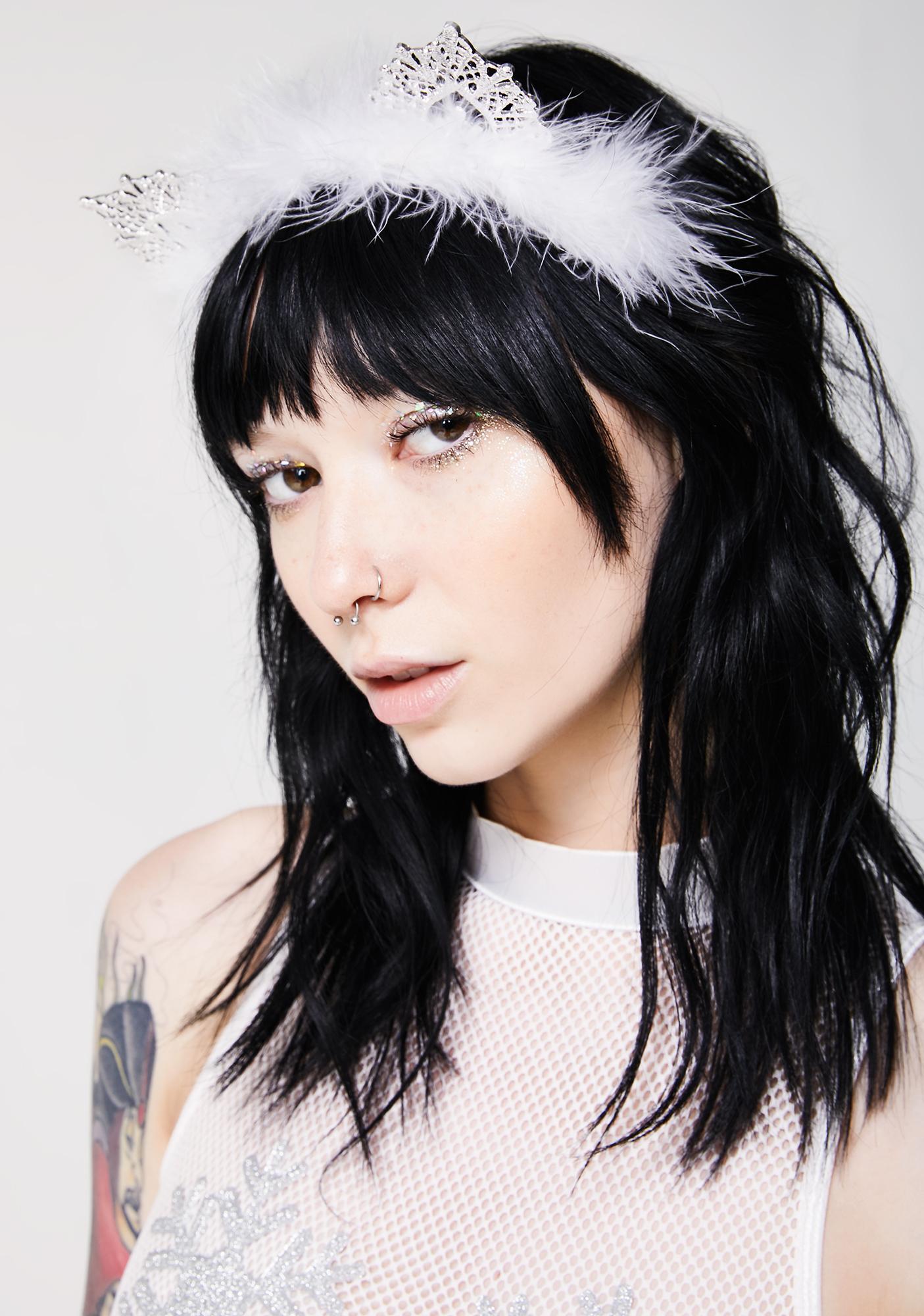 Snow Kitty Headband