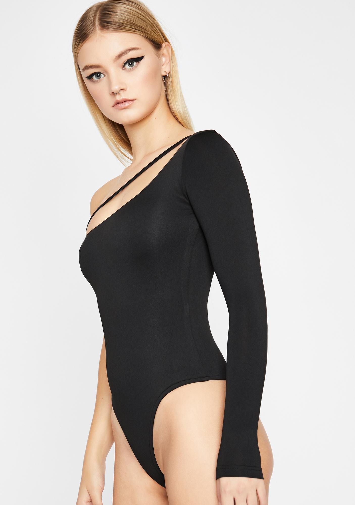 Luna Unsubscribed One-Shoulder Bodysuit