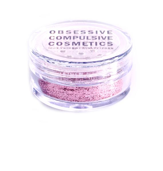 Obsessive Compulsive Cosmetics Pink Cosmetic Glitter
