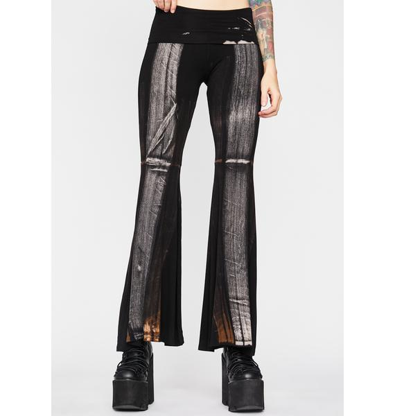 Mystic Moonwalk Flared Pants