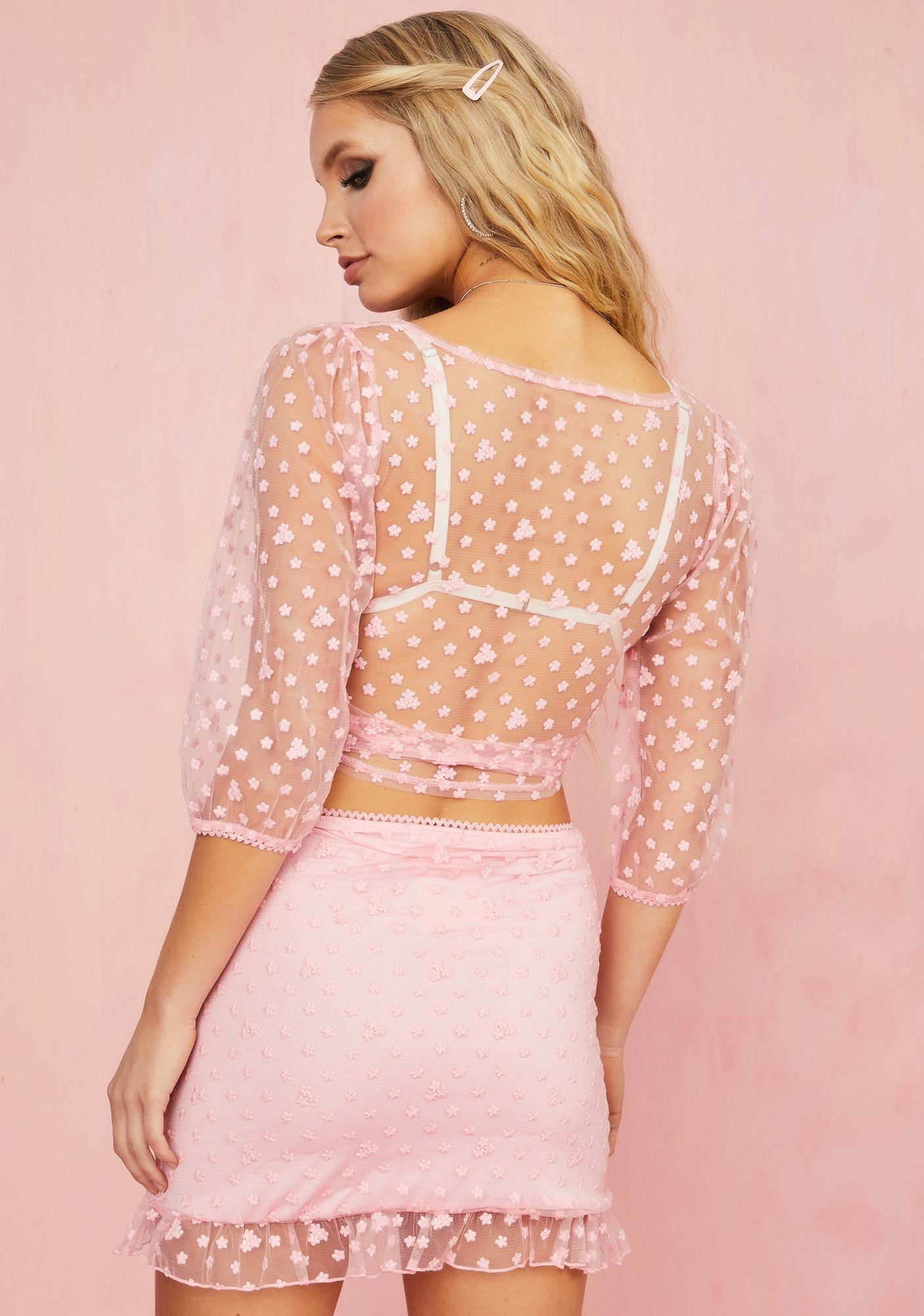 Sugar Thrillz Lust For Life Mini Skirt