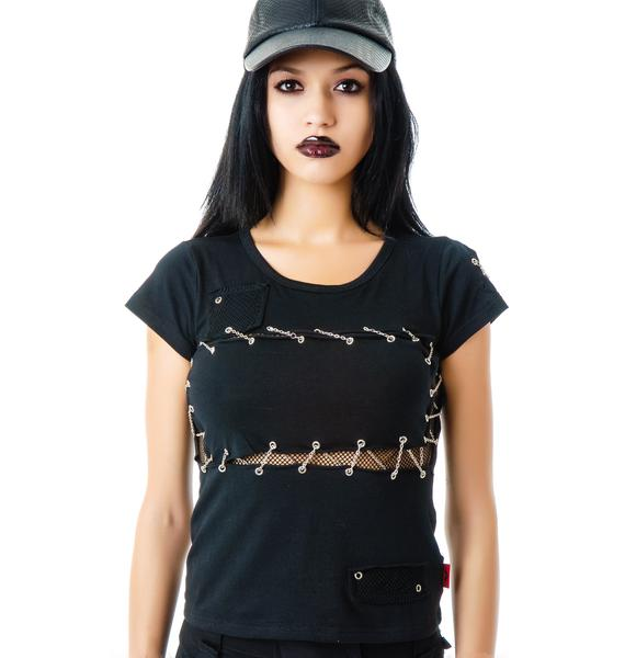 Dante's Chains Fitted Tee