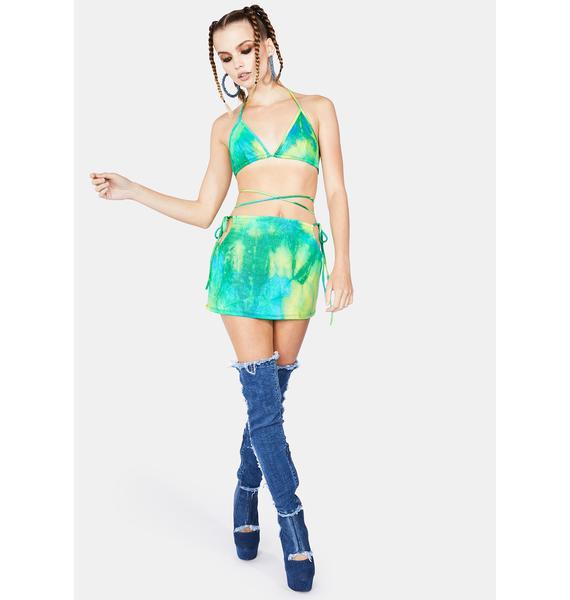 Jade Dance Til' Dawn Skirt Set