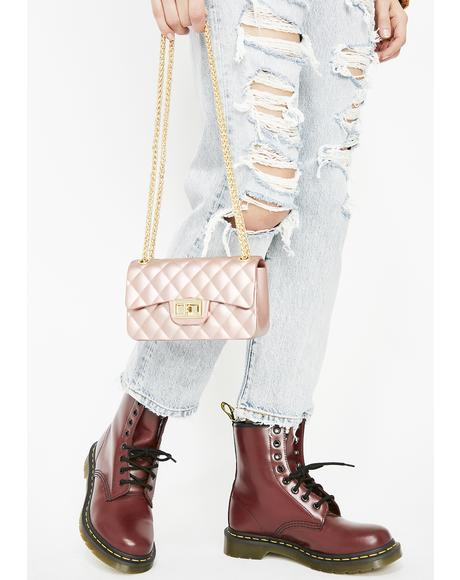 Miss Top Notch Babe Quilted Bag