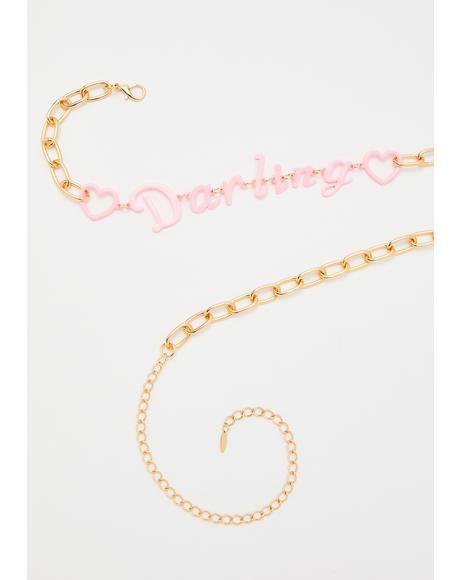 Princess Diaries Chain Belt