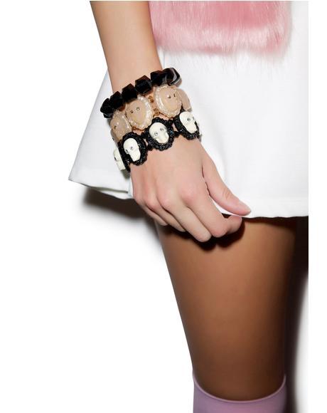 Victorian Skull Bracelet