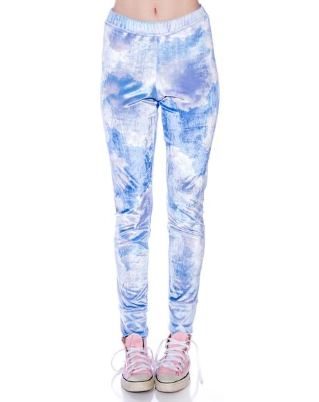 Cupid Cloudy Sky Leggings