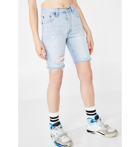 Levis 501 Slouch Shorts
