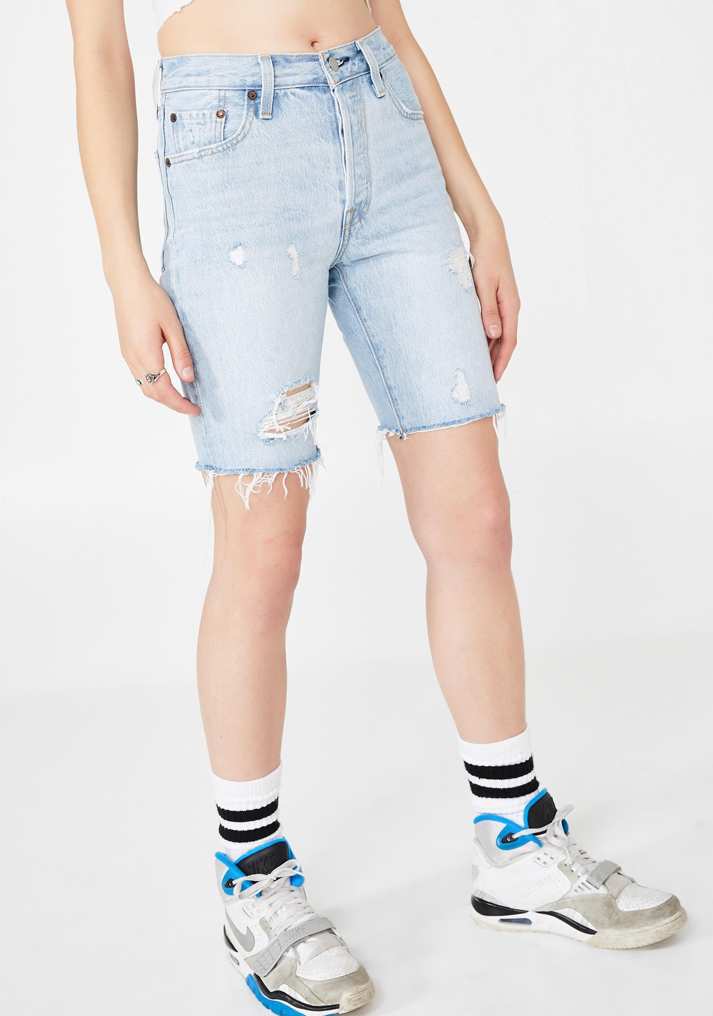 3c99188d Levis 501 Slouch Shorts | Dolls Kill