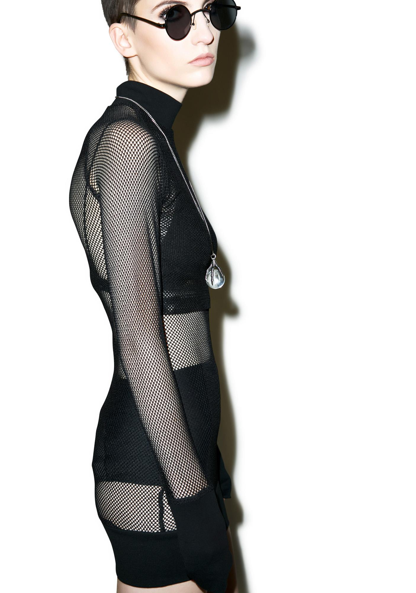Killstar Omen Bodycon Dress