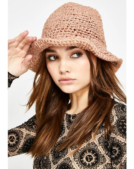 Naturally Broad Horizons Crochet Bucket Hat
