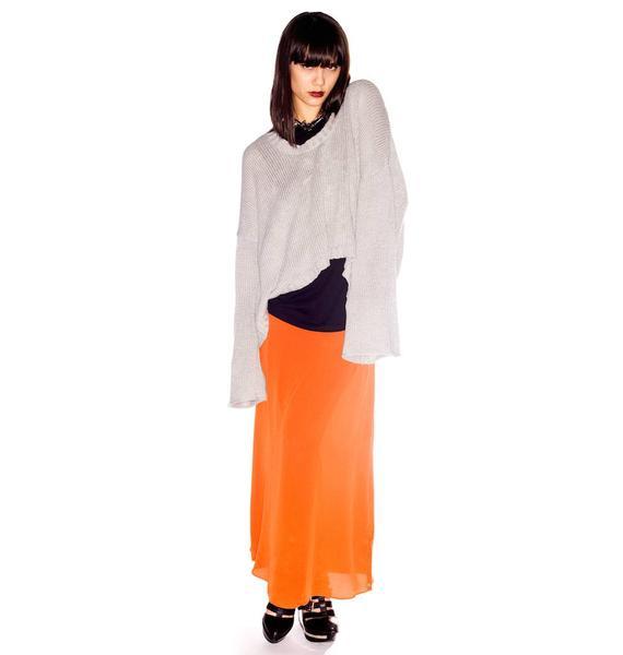 One Teaspoon Harlequin Silk Skirt