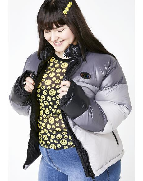 Life In The Past Lane Puffer Jacket