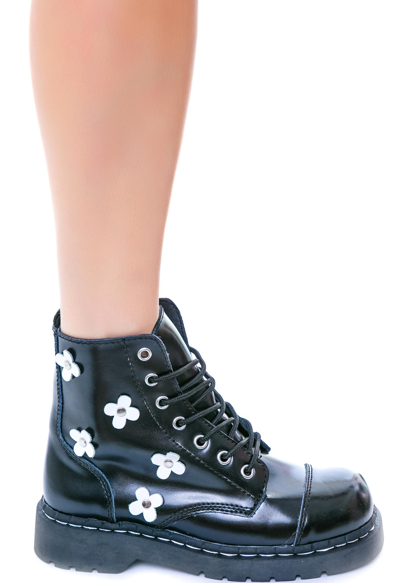 T.U.K. Flower 7 Eye Boot
