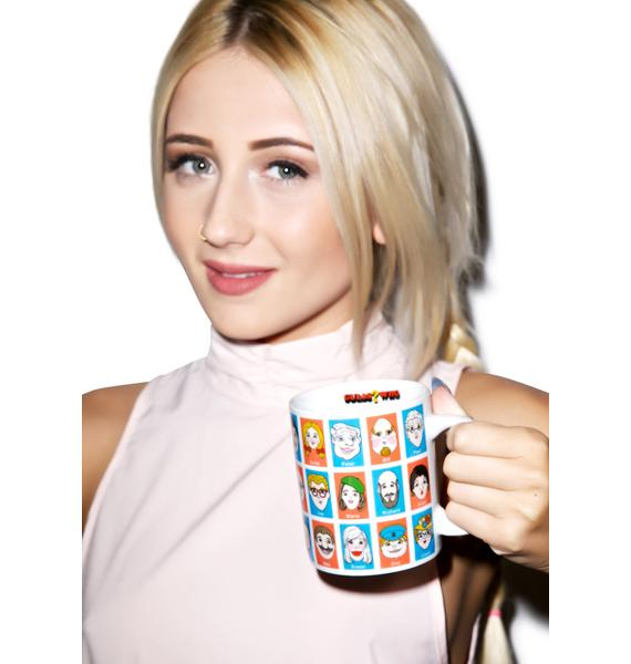 Guess Who Porcelain Mug