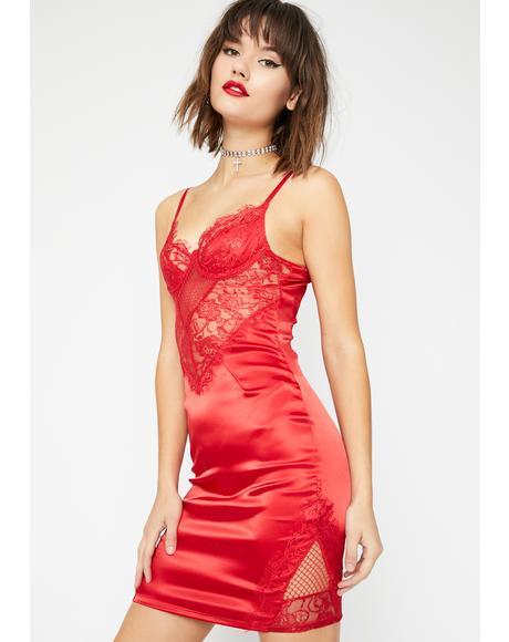 Siren Lookin' Like Dessert Mini Dress