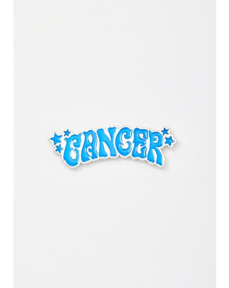 Cute Cancer Enamel Pin