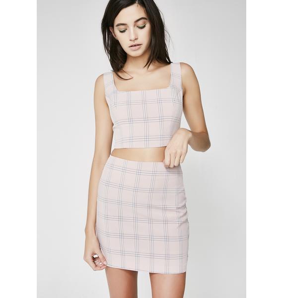 Cuttin' Class Mini Skirt