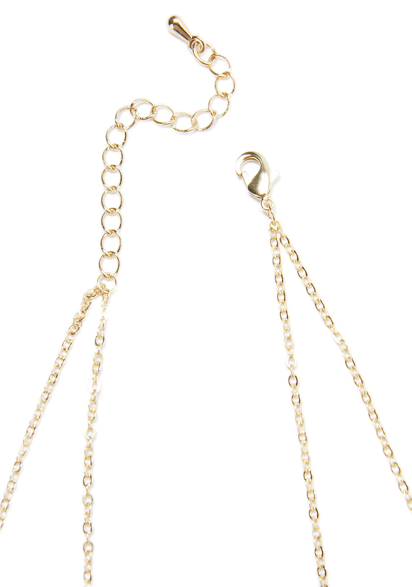 Good As Gold Dainty Body Chain