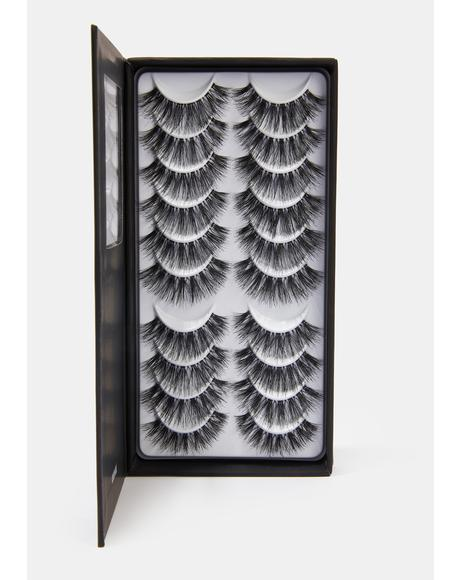 Number 33 Natural Hair Eyelashes