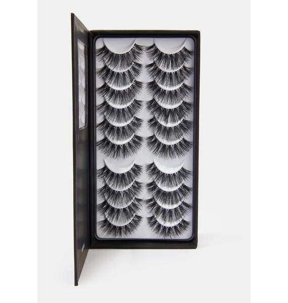 LASHES IN A BOX N°33 Natural Hair Eyelashes