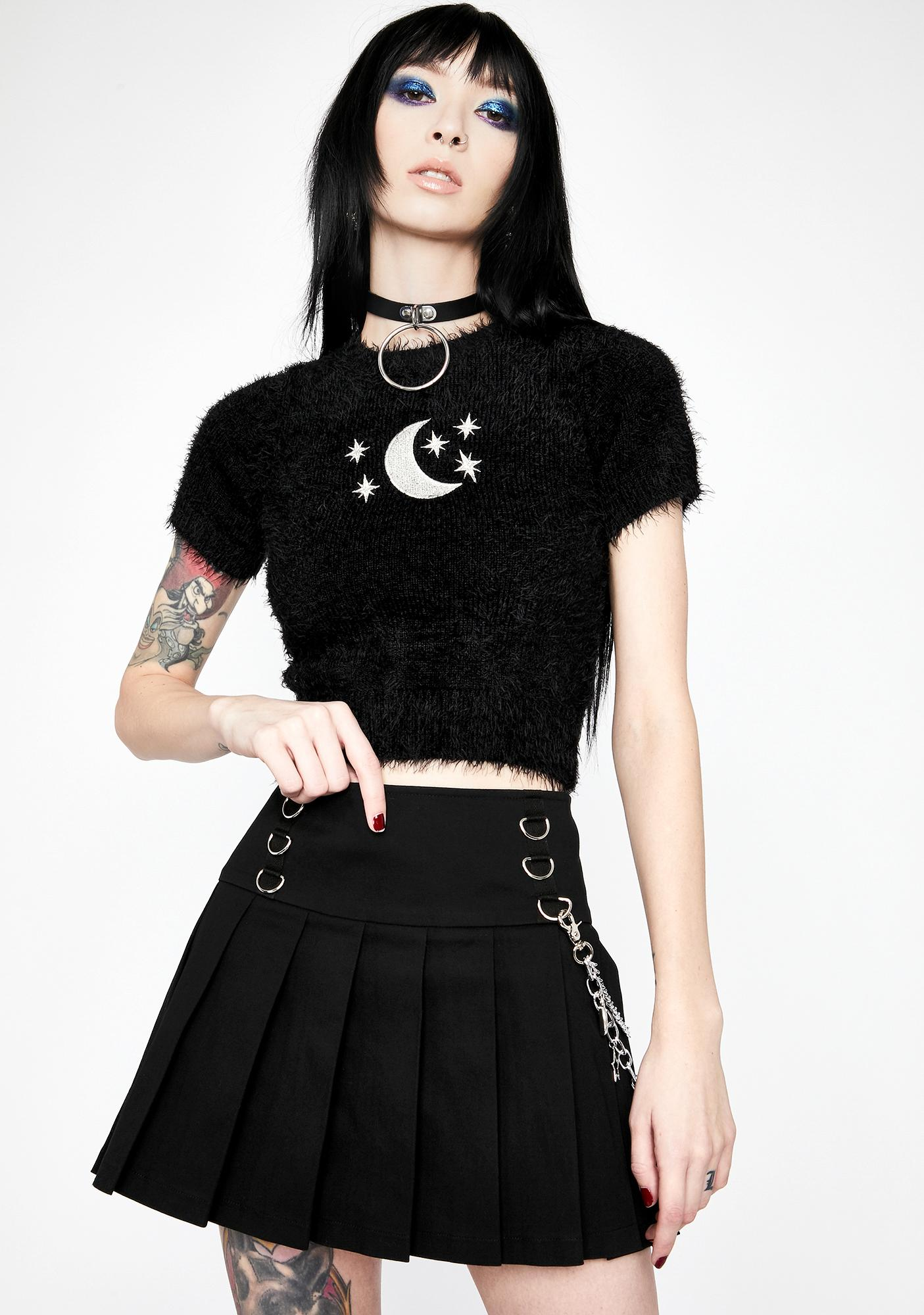 HOROSCOPEZ Astral Projection Pleated Skirt