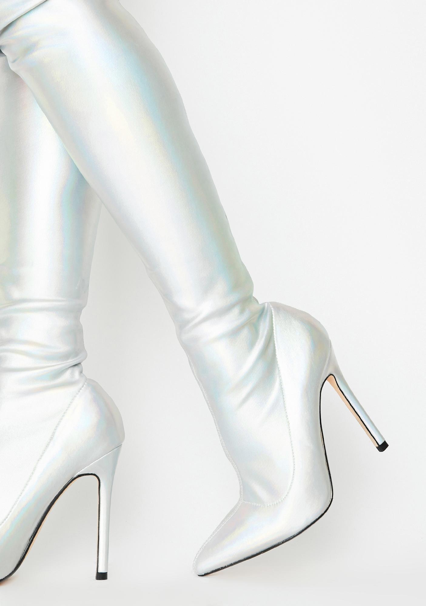 Lemon Drop by Privileged Bravvo Thigh High Boots