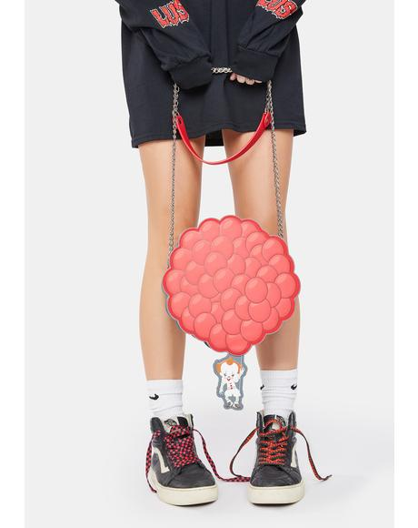 IT Pennywise You'll Float Too Balloon Crossbody