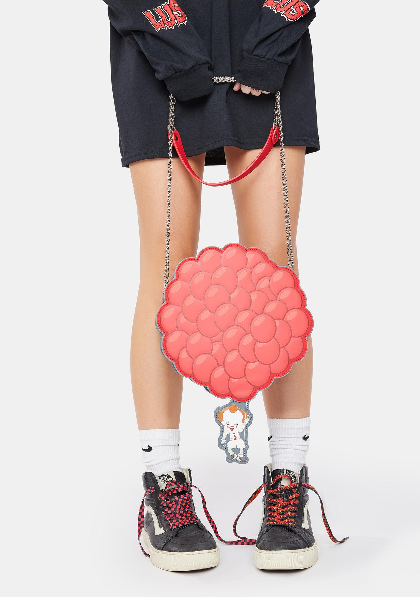 Loungefly IT Pennywise You'll Float Too Balloon Crossbody