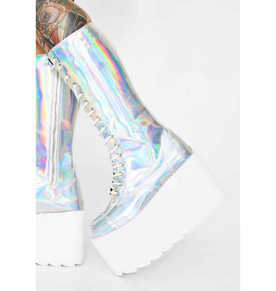 Y.R.U. Hologram Bloq Boots