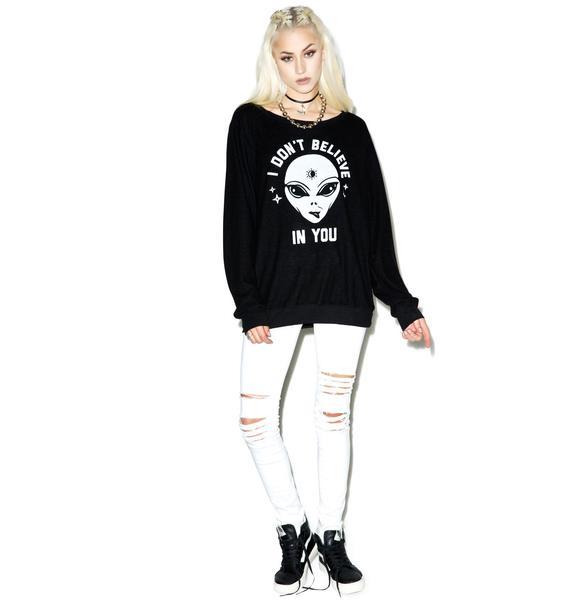 Social Decay No Beliefs Sweater