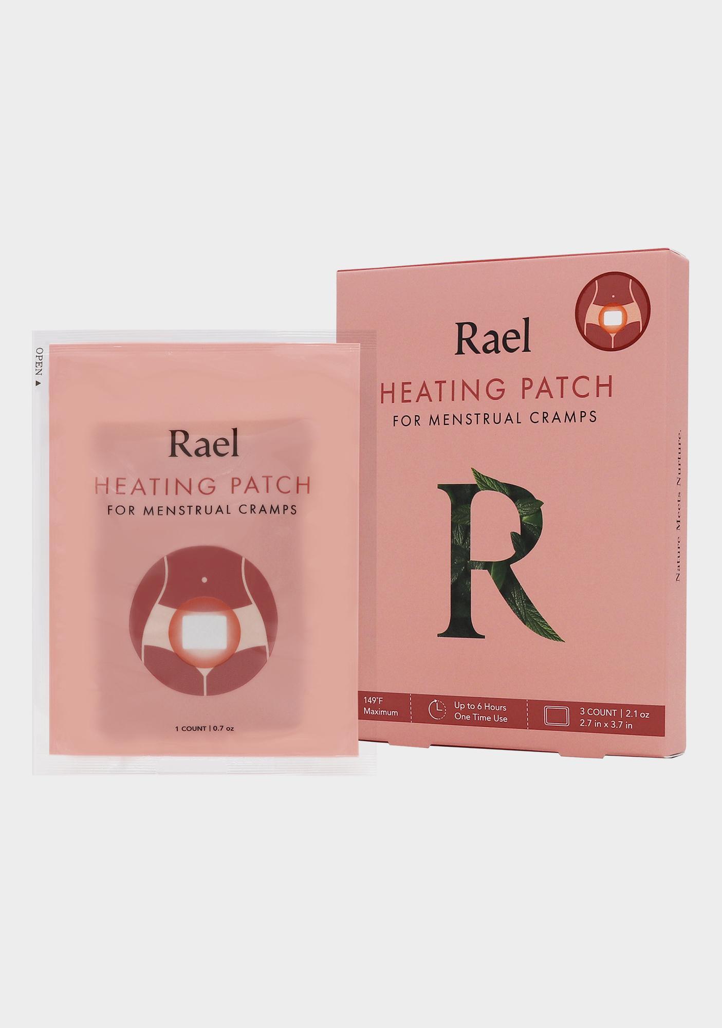 Rael Menstrual Cramps Heating Patch