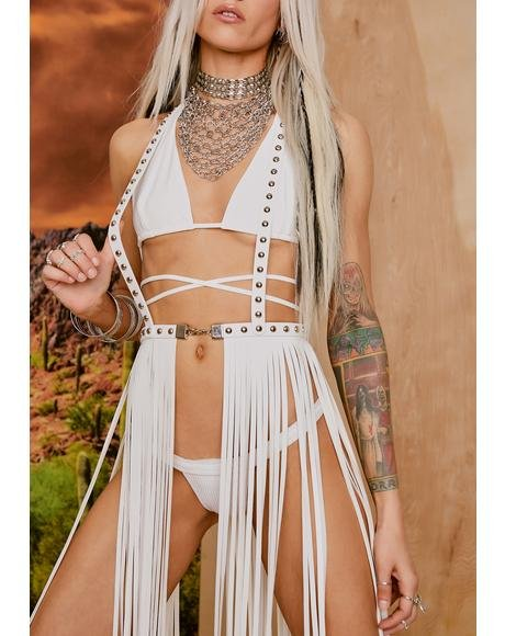 Untamed Outlaw Fringe Skirt