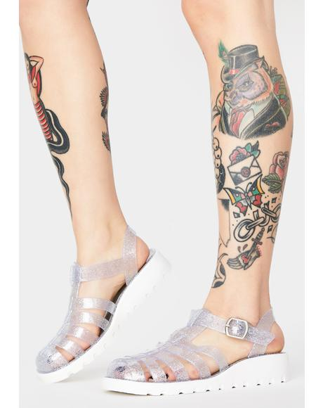 Stardust Kick To The Curb Jelly Shoes