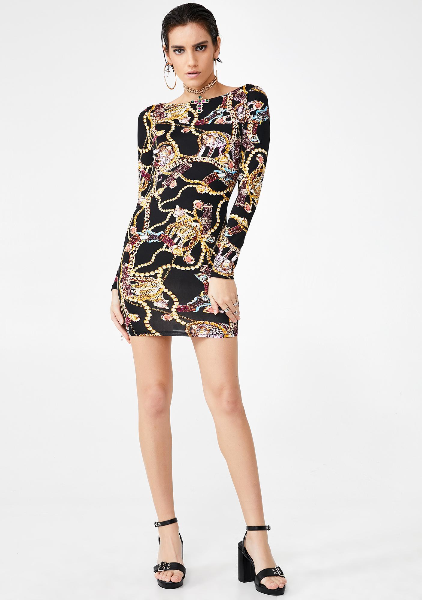 No Fakes Bodycon Dress