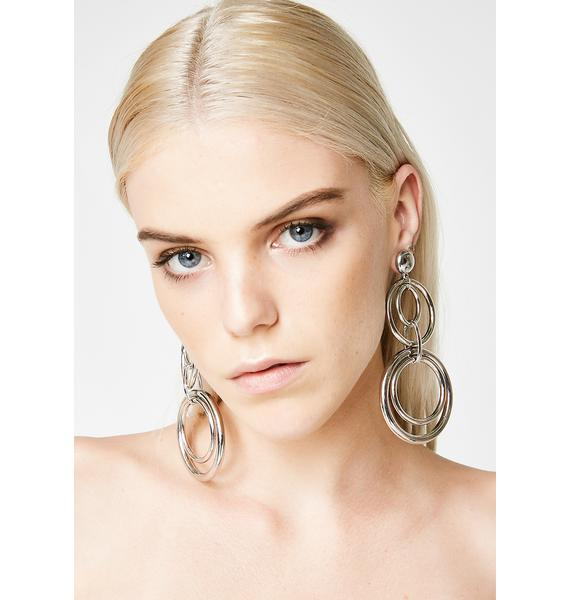 Boomin' Outta Here O Earrings