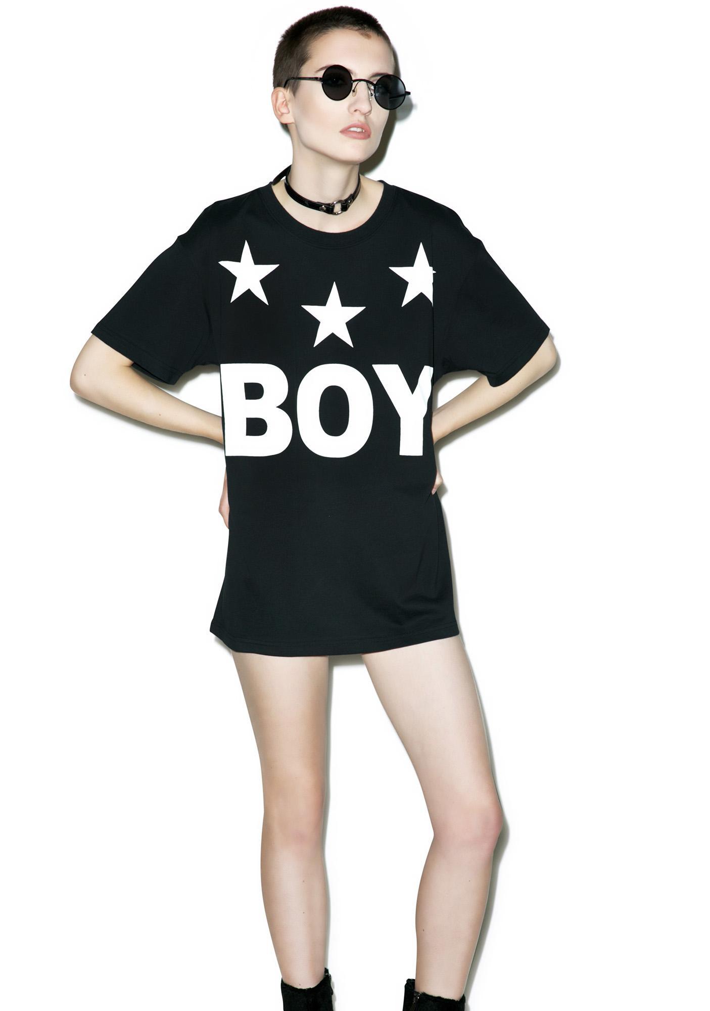 BOY London Tri Star T-Shirt