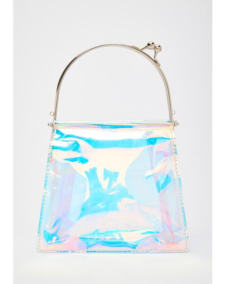 Mystic Illusions Holographic Handbag