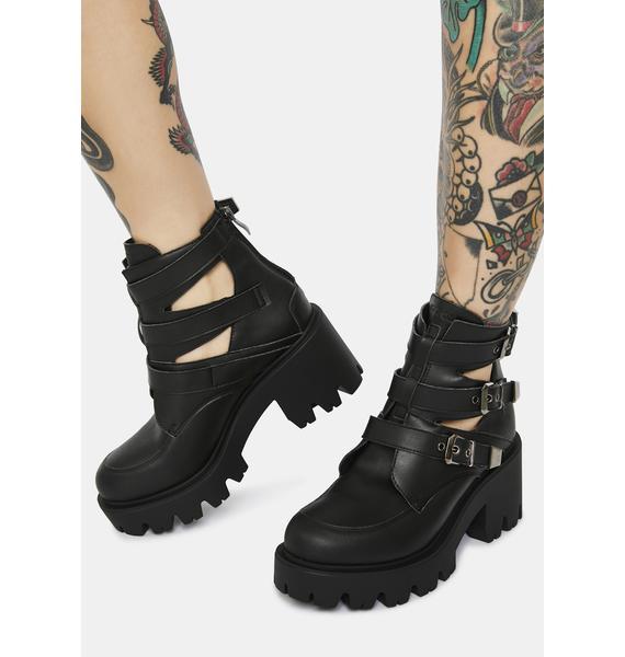 Altercore Randa Vegan Leather Booties