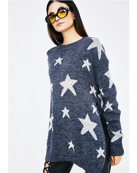 Cosmic State Star Sweater