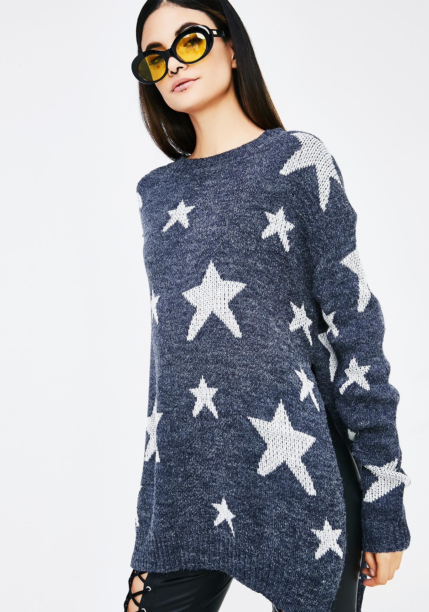 Cosmic State Star Sweater