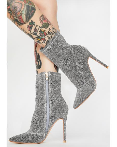 Social Habit Ankle Booties
