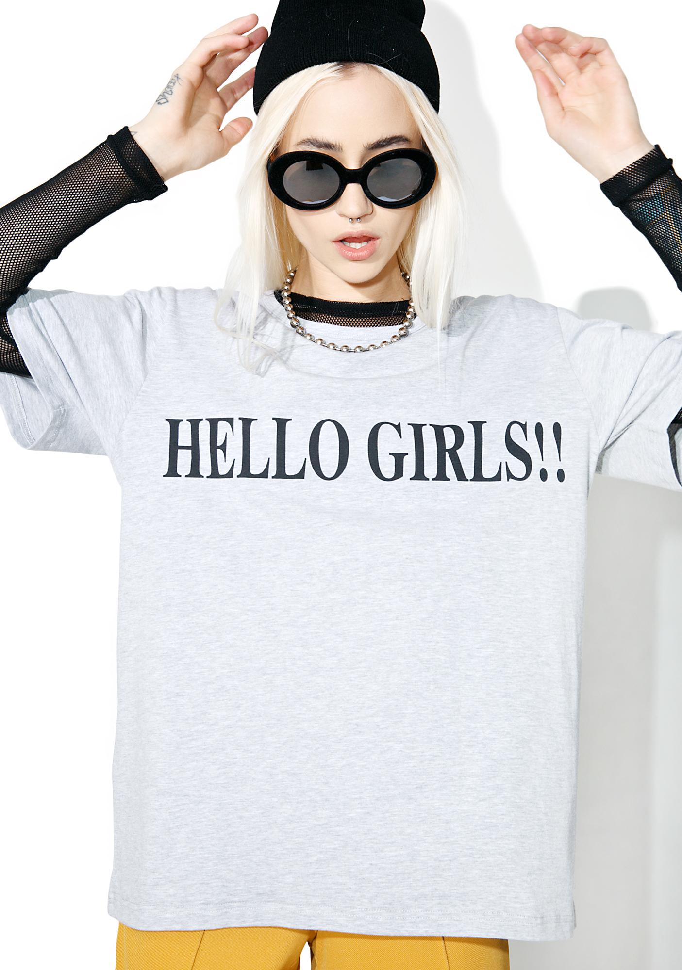 Vetememes Hello Girls Tee
