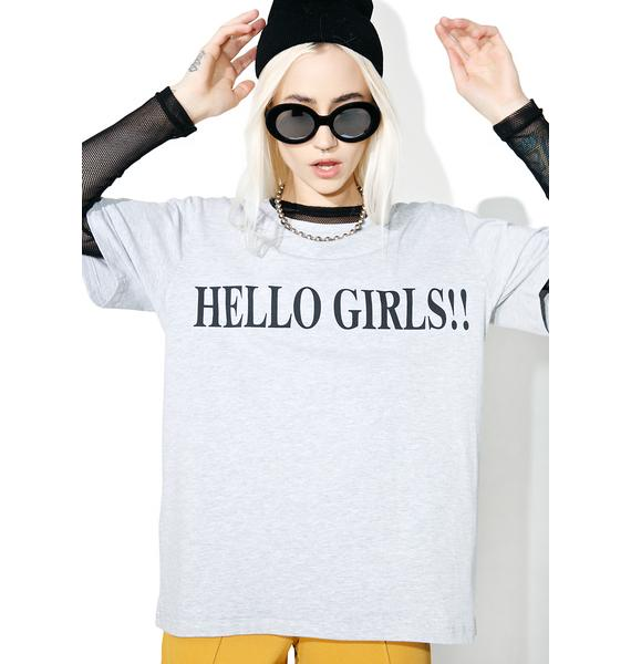 Vetememes Hello Girls Tee