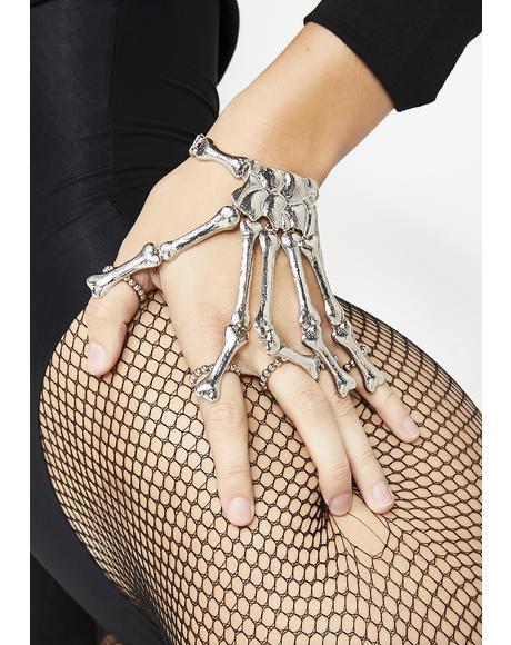 Under Your Skin Hand Bracelet